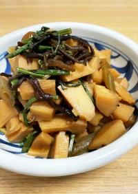おばあちゃんの筍と蕗と山菜の煮物