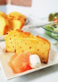 簡単グレープフルーツのパウンドケーキ