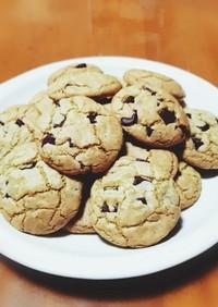 バター無し◎チャンクチョコ抹茶クッキー