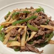 中華料理の定番が簡単 青椒炒牛肉絲の写真