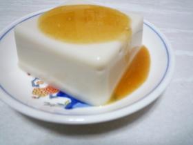 胡麻豆腐のタレ