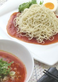 簡単☆中華麺アレンジ トマト担々麺