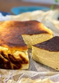 生クリーム不使用✨バスク風チーズケーキ