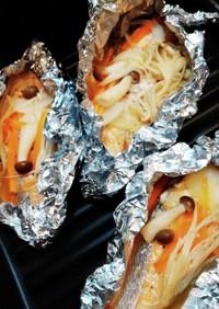 鮭のホイル焼き☆レモンペパーミックス味