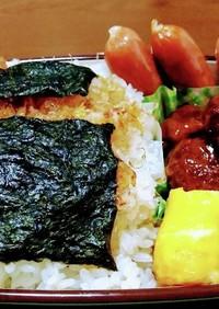 男子高校生お弁当(4)のり弁