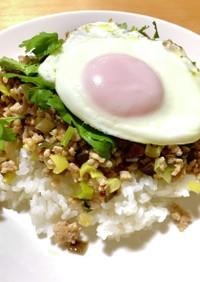 余り野菜でタイ料理☆ガパオライス