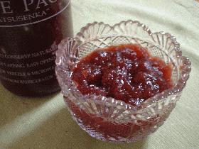 りんごジャム(赤ワインで!)