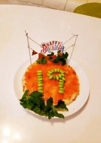 ちらし寿司★ケーキ★お誕生日