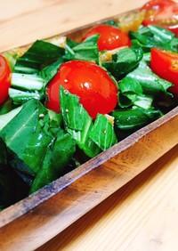 チンゲン菜とポン酢の絶品無限サラダ