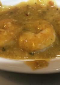 麻婆豆腐の素で作るエビチーズ麻婆