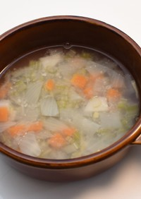 コロコロ野菜のぽかぽかスープ