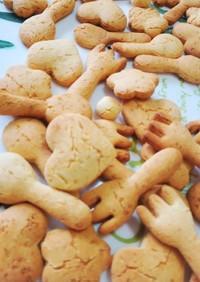 超ヘルシー♪離乳食ダイエット米粉クッキー