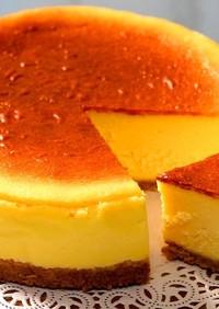 濃厚ずっしり!基本のベイクドチーズケーキ