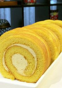 グルテンフリー!きな粉ロールケーキ