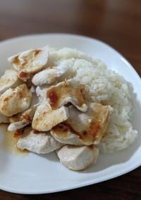 鶏むね肉のカオマンガイ風ご飯