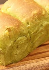 しっとり!もちもち! 抹茶と甘栗の食パン