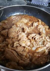 豚の甘辛煮