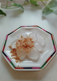 片栗粉で簡単もちもちわらび餅