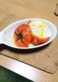 トマトとツナのオリーブオイル焼き