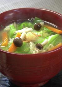 今日の味噌汁★春キャベツの味噌汁【動画】