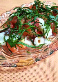 塩麹で♪タコとトマトの簡単サラダ