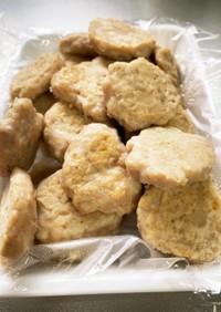 離乳食☆マグロ豆腐ハンバーグ