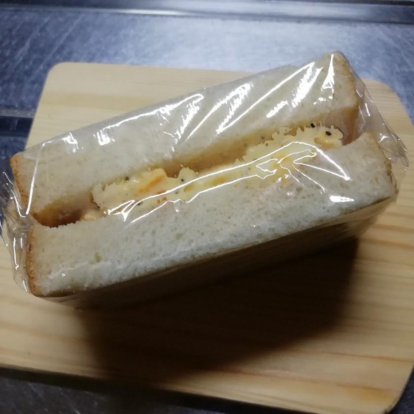 レンジで簡単卵サンド