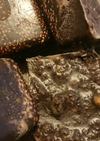 ココナッツオイルで無糖チョコ
