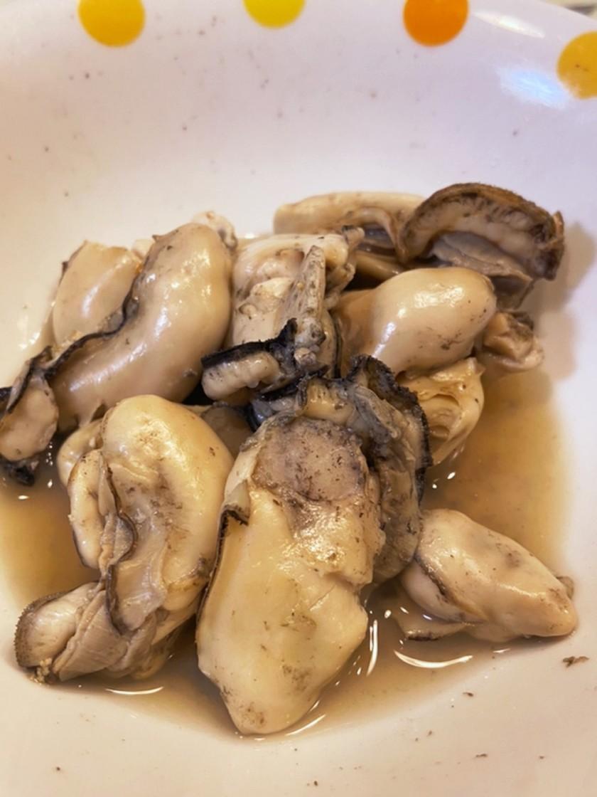 レンジで簡単☆蒸し牡蠣