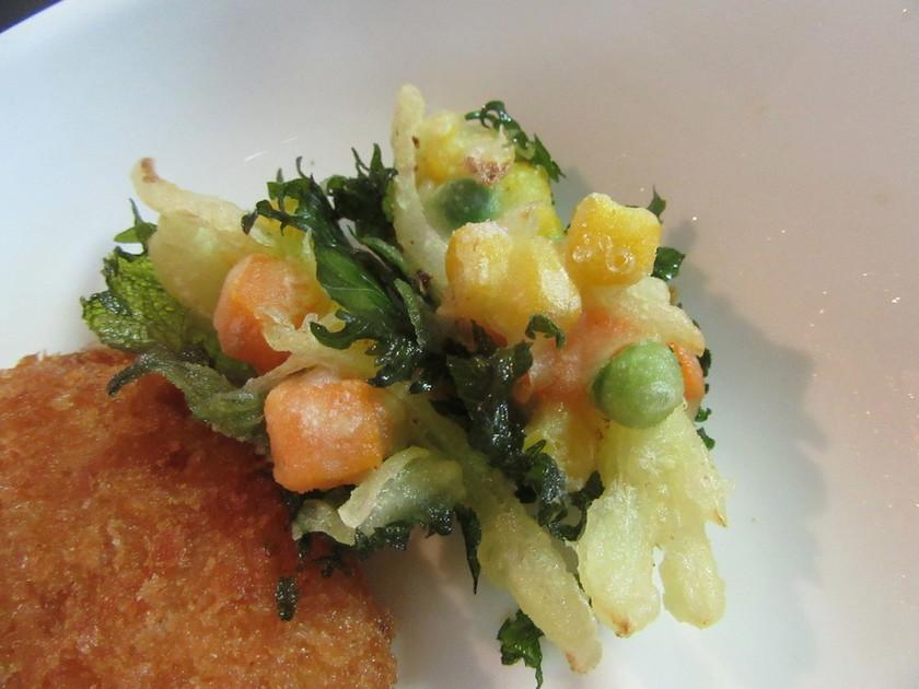 ミニ野菜かき揚げ 大葉巻き