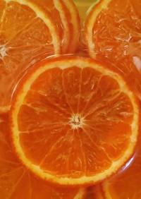 オレンジのはちみつ漬け