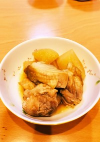 我が家の鶏と大根のほろほろ煮☆☆