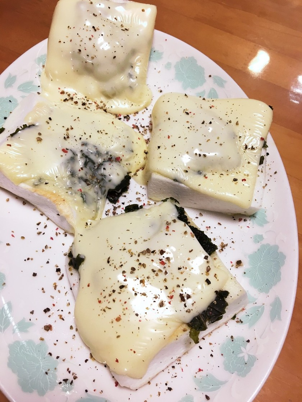 ハンペンのチーズ焼き