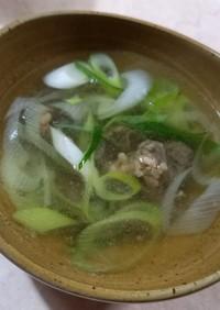 簡単☆牛タンスープ