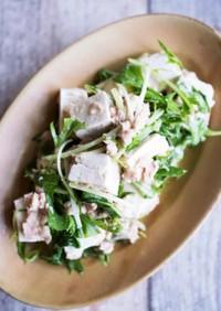 塩こうじヨーグルトのツナ豆腐サラダ