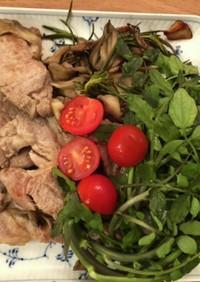 ロカボ 豚肉と香草のグリル