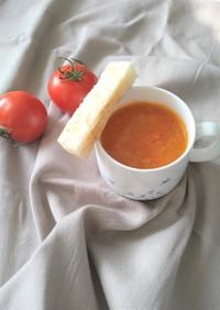 にんじんとトマトのまっかなスープ