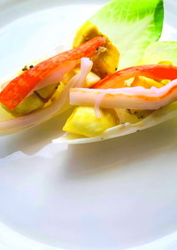 時短ダイエット美容♡チコリのライスサラダ