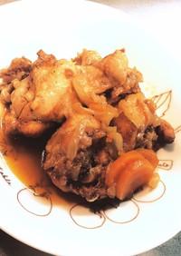 【幼児食にも】圧力鍋で鶏手羽元甘辛煮☆°