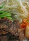 焼肉のタレで簡単★ビビンバ丼