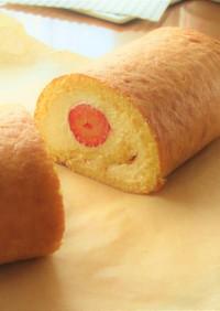 〖 いちごのレアチーズロールケーキ 〗