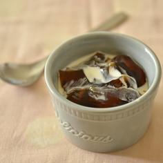世界一簡単で美味しいコーヒーゼリー