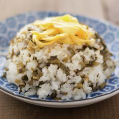 熊本の郷土料理 高菜めし