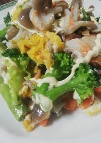 キノコと野菜のサラダ!ゆりさん風