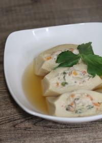 節約メニュー♪高野豆腐の鶏ミンチの煮物