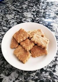 [手掴み離乳食]米粉きなこクッキー