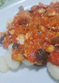 ハーブ香る肉団子♡トマトソースニョッキ