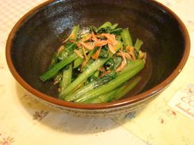ご飯がススム!!小松菜の煮びたし