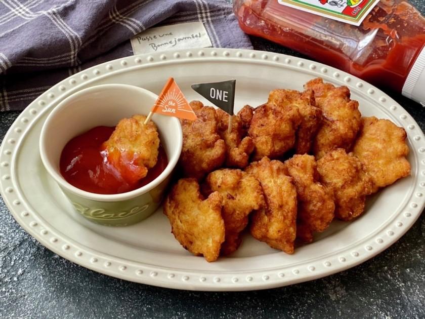 鶏むね肉1枚de激旨チキンナゲット