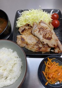 【糖質制限食】豚の西京焼き